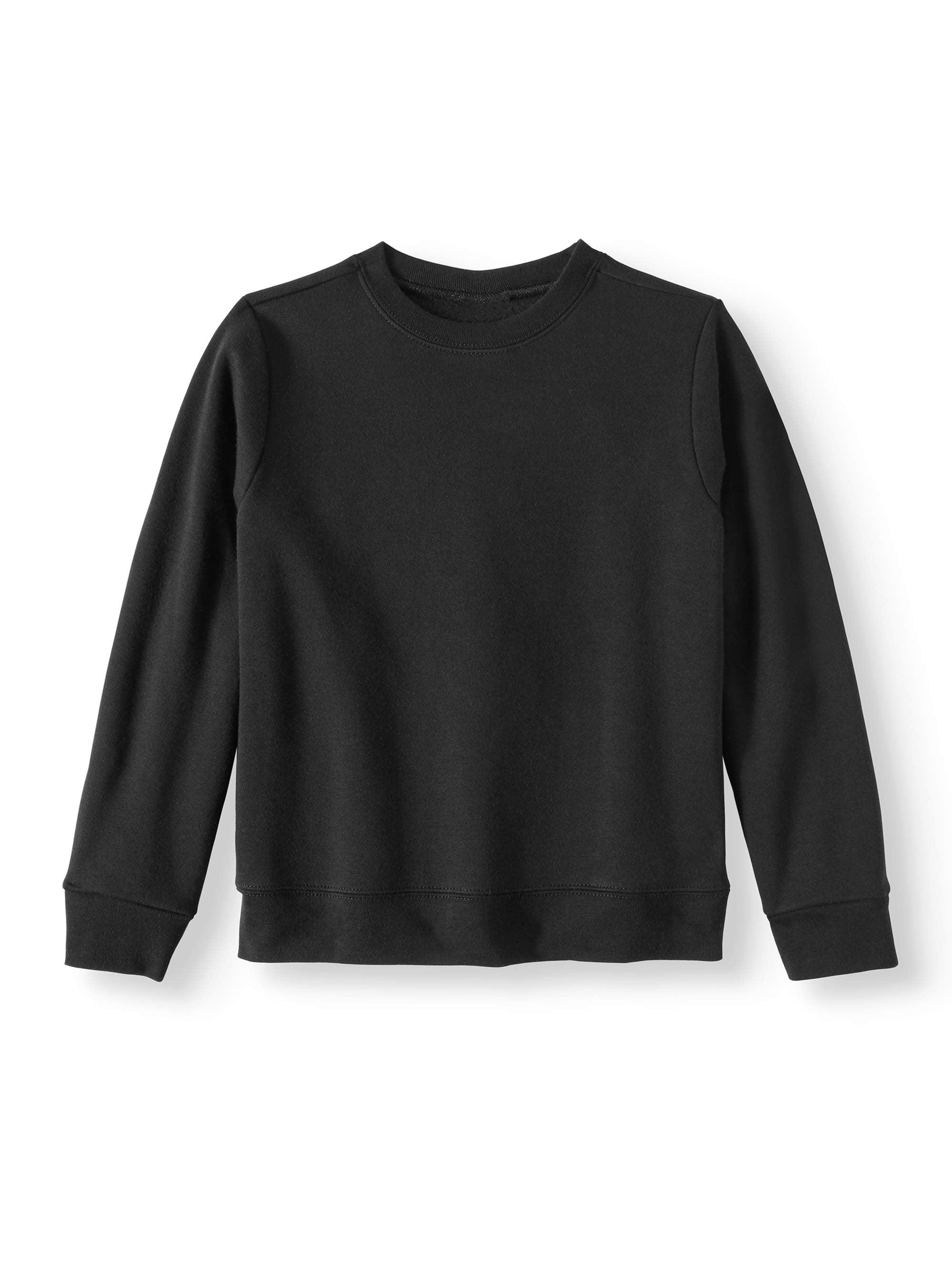 Boys' Pullover Crew Neck Fleece Sweatshirt