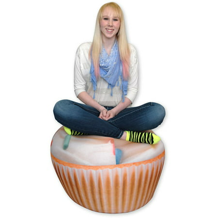 Wow Works Cupcake Bean Bag Chair