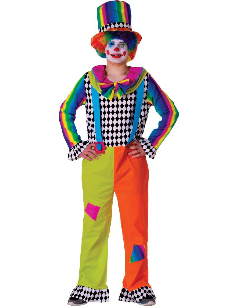 Jolly The Clown Costume For Men  sc 1 st  Walmart & Clown Costumes