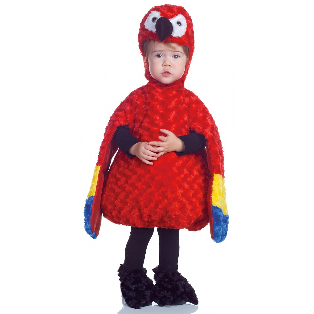 Belly Babies Parrot Toddler Costume - X-Large