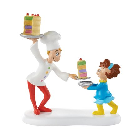 Grinch Fur (Department 56 Grinch Villages Cake for Who Cake for You Village Accessory Figurine, 2.75)