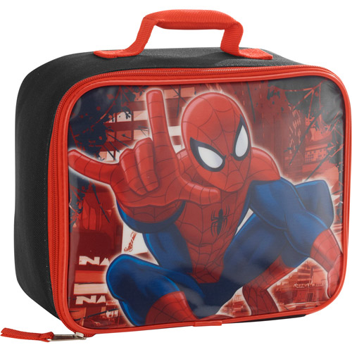 Spiderman Square Lunch Bag