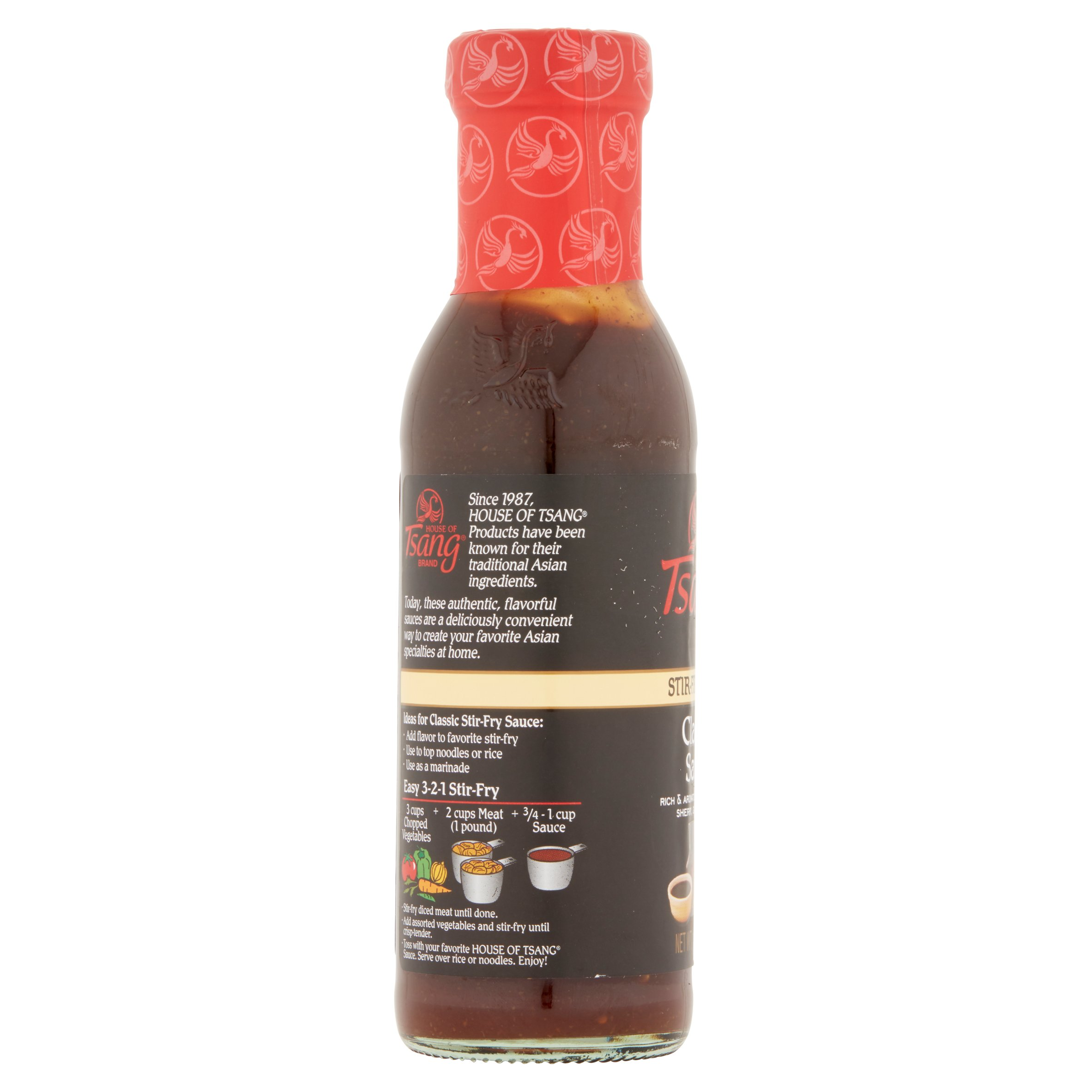 House of Tsang Classic Stir-Fry Sauce 11.5 oz. Bottle - Walmart.com