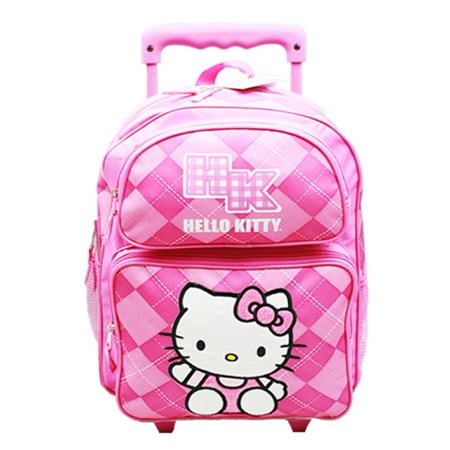 Hello Kitty Small Rolling Backpack #82071