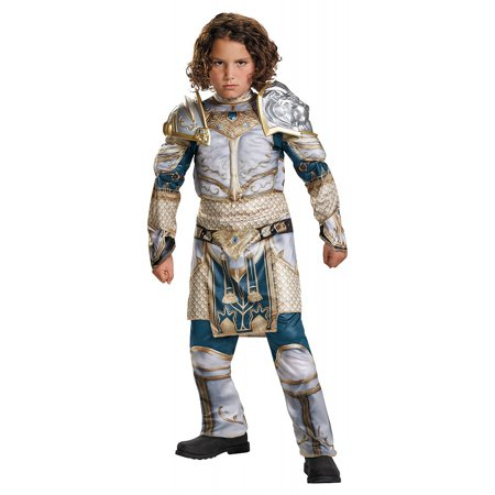 World of Warcraft King Lane Muscle Child Halloween Costume (Wow Halloween Pets)