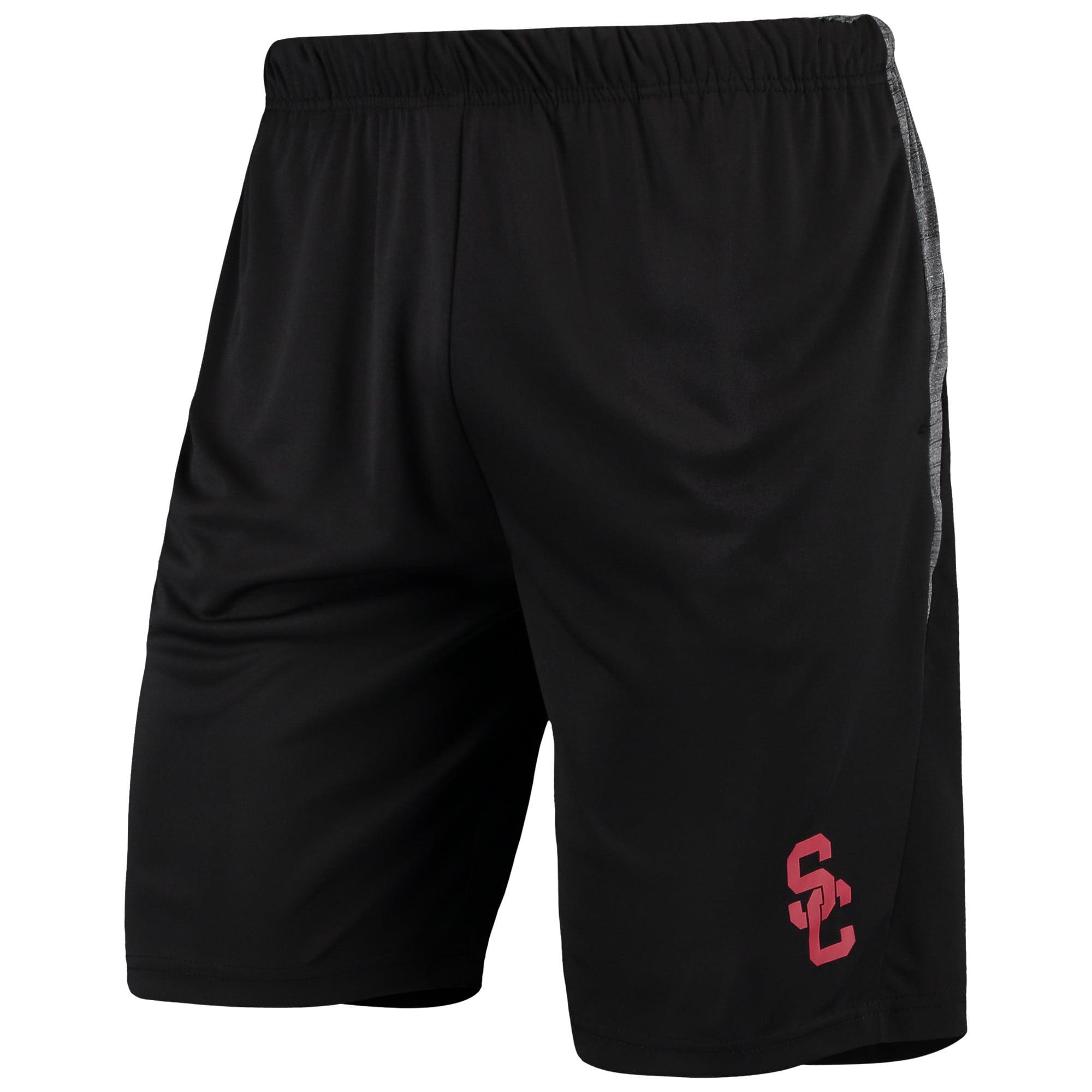Men's Black/Charcoal USC Trojans Draco Shorts