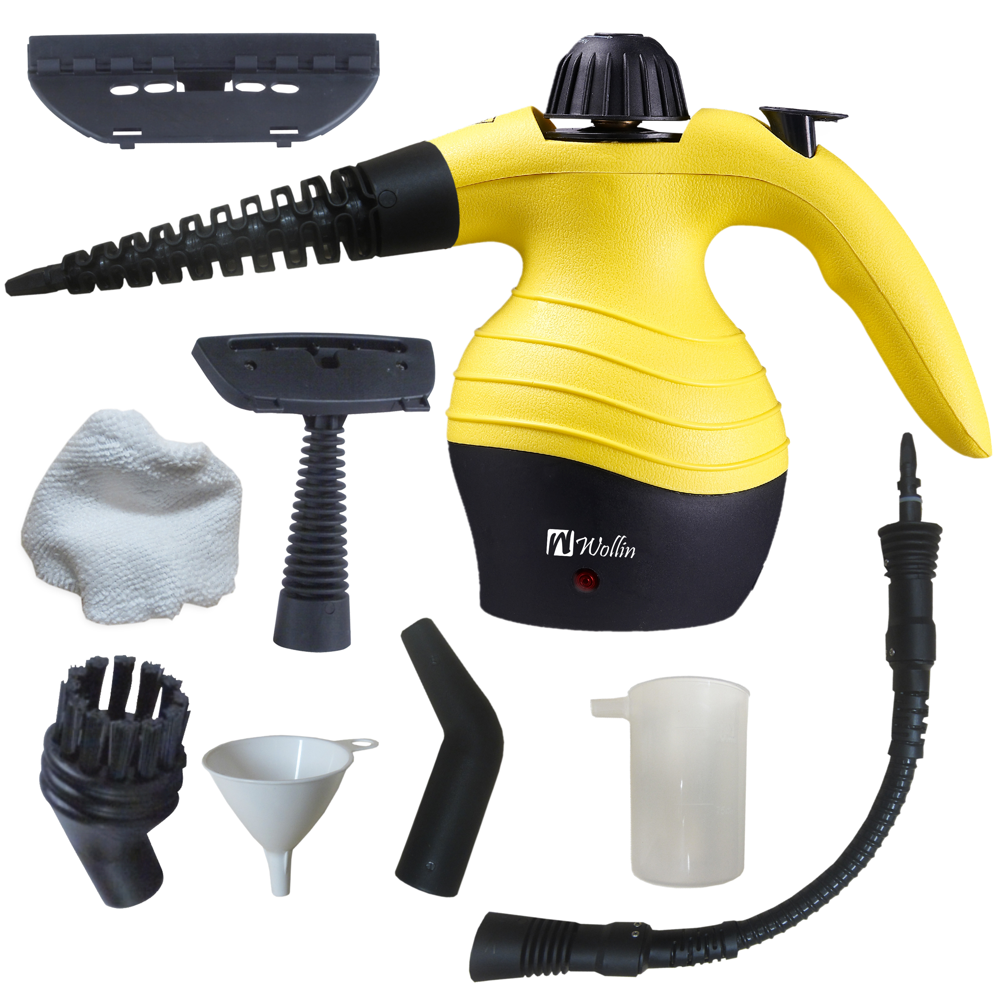 Handheld Steam Cleaner | Multi Purpose For Cleaning, Stai...