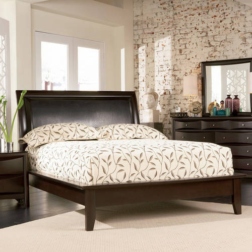 Coaster Company Phoenix Collection Cal King Bed, Cappuccino
