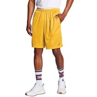 """Champion Men's Long Mesh 9"""" Shorts with Pockets, up to Size 4XL"""