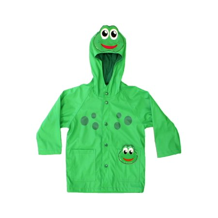 0ab10cad4 Western Chief - Green Frog Child Raincoat - Walmart.com