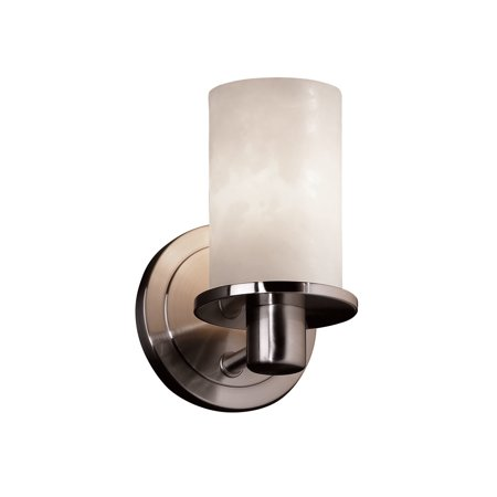 Justice Design Group CLD-8511-10 Clouds 1 Light Bathroom Sconce