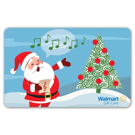 Gift Cards & Promotional Codes (Singing Santa Walmart Gift)