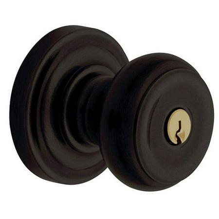 Baldwin 5210 Universal Backset Deadlocking Latchbolt for Keyed Entry Baldwin Loc, Oil Rubbed Bronze Bronze Keyed Baldwin Hardware