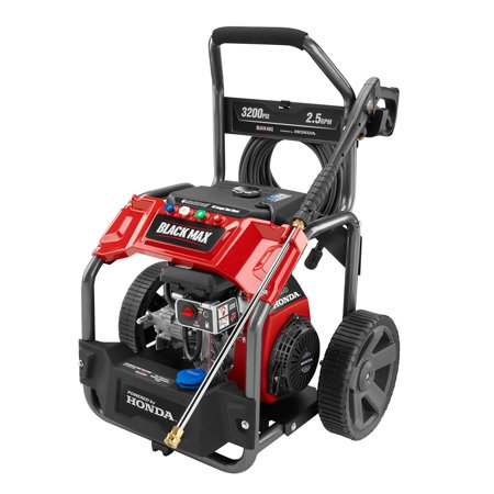Black Max 3200 Psi Extended Run Gas Pressure Washer