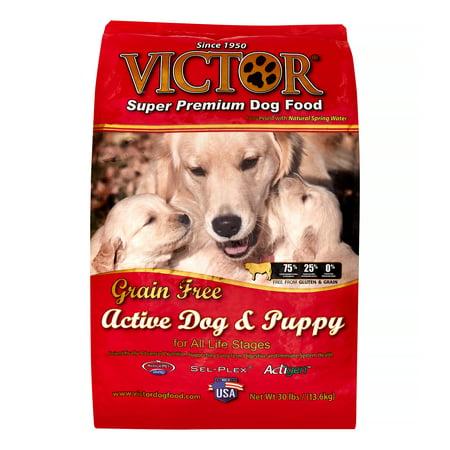 Victor Active Dog & Puppy Formula Grain-Free Dry Dog Food, 30-lb -