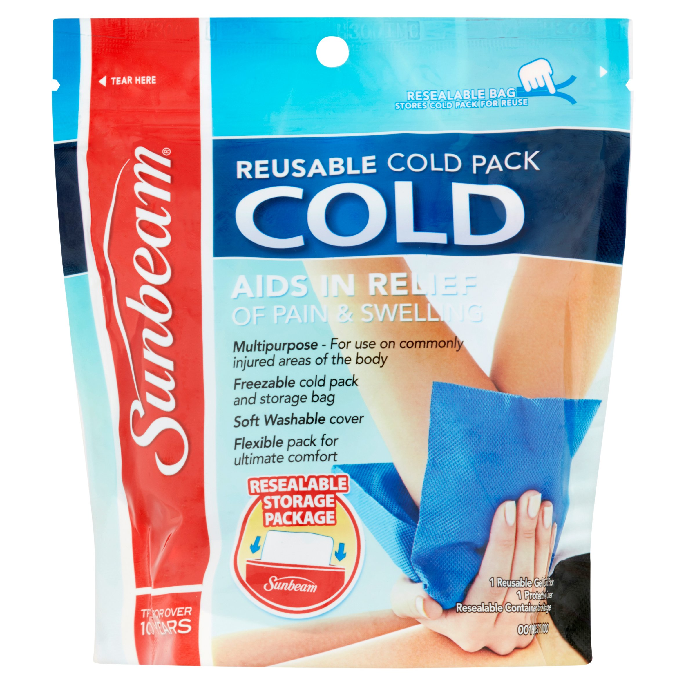 sunbeam reusable cold pack walmart com