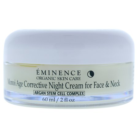 Eminence Monoi Age Corrective Night Cream for Face and Neck - 2 oz