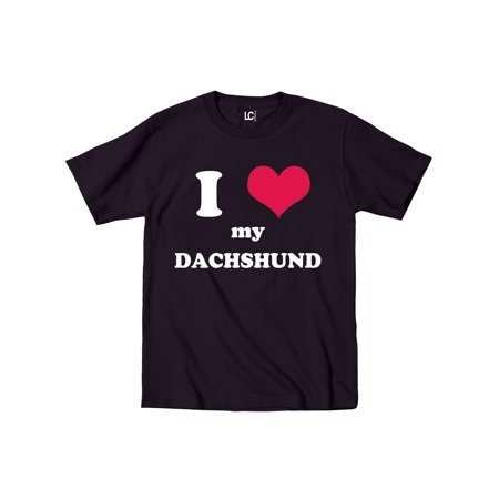 I Heart Love My Daschund, Dog Weiner Dog Breed Puppy Pet Parent Mens - I Love My Mummy Halloween Dog Shirt