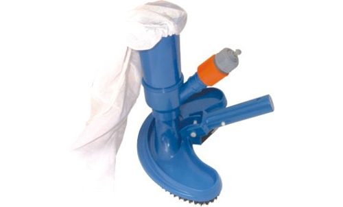 Swimming Pool & Spa Jet Vacuum W  Brush, Bag & Hose Adaptor by SUNSOLAR