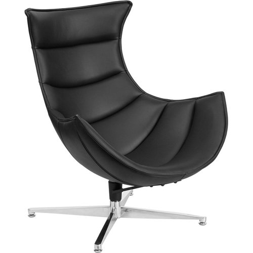 Orren Ellis Wheatley Leather Lounge Chair