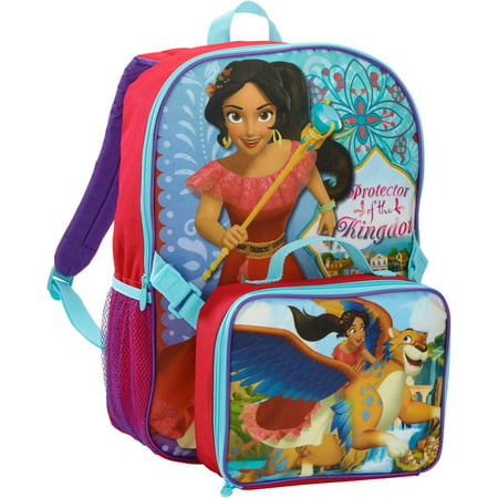 811e8b21a19 Disney - Elena Of Avalor Backpack with Lunch Kit - Walmart.com