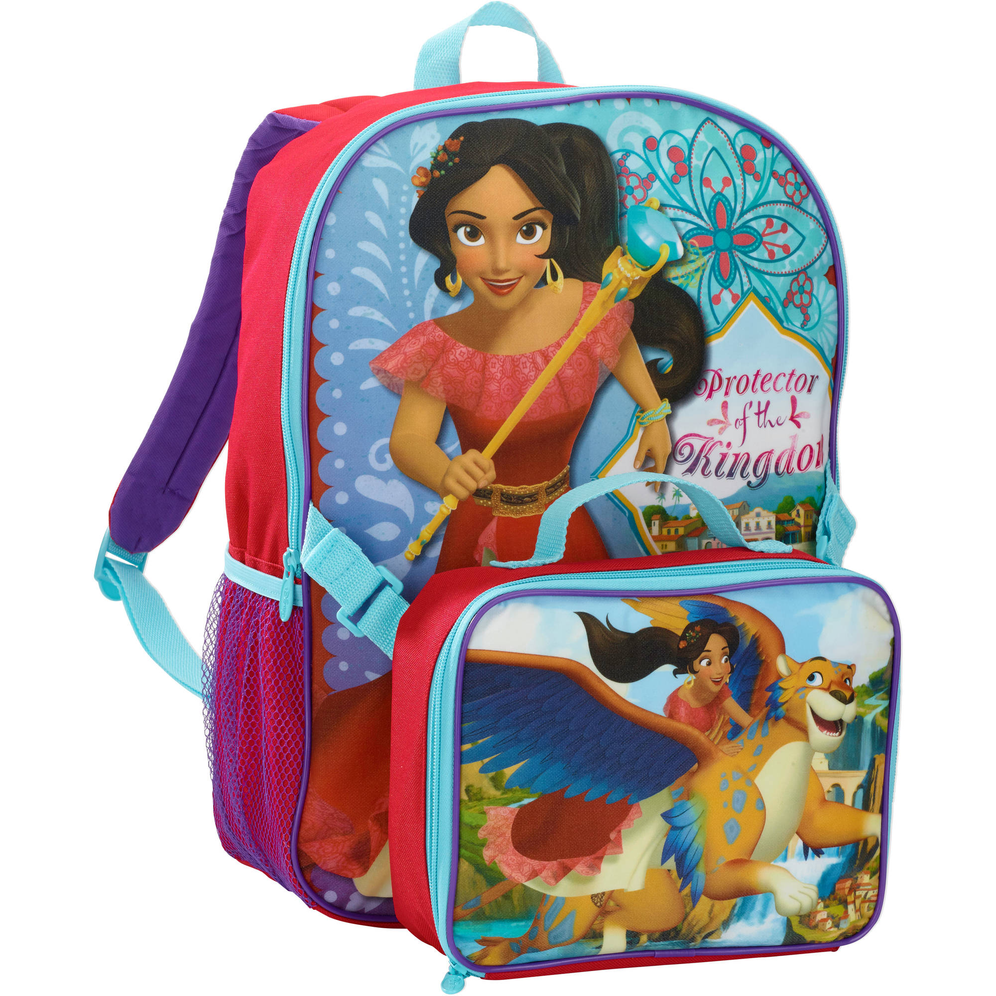 Elena Of Avalor Backpack with Lunch Kit