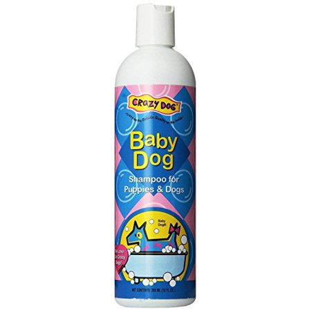 Scented Pet Shampoo Crazy Dog 12 Ounce Pet Cleanser Wash - Choose From 3 Scents(Baby Dog) - Shaggy Dog Wash