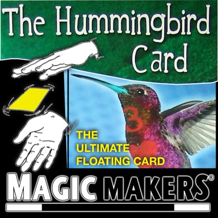 Magic Makers - The Hummingbird Card - The Ultimate Floating Card Magic Trick