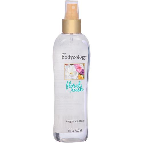 bodycology Floral Rush Fragrance Mist, 8 fl oz