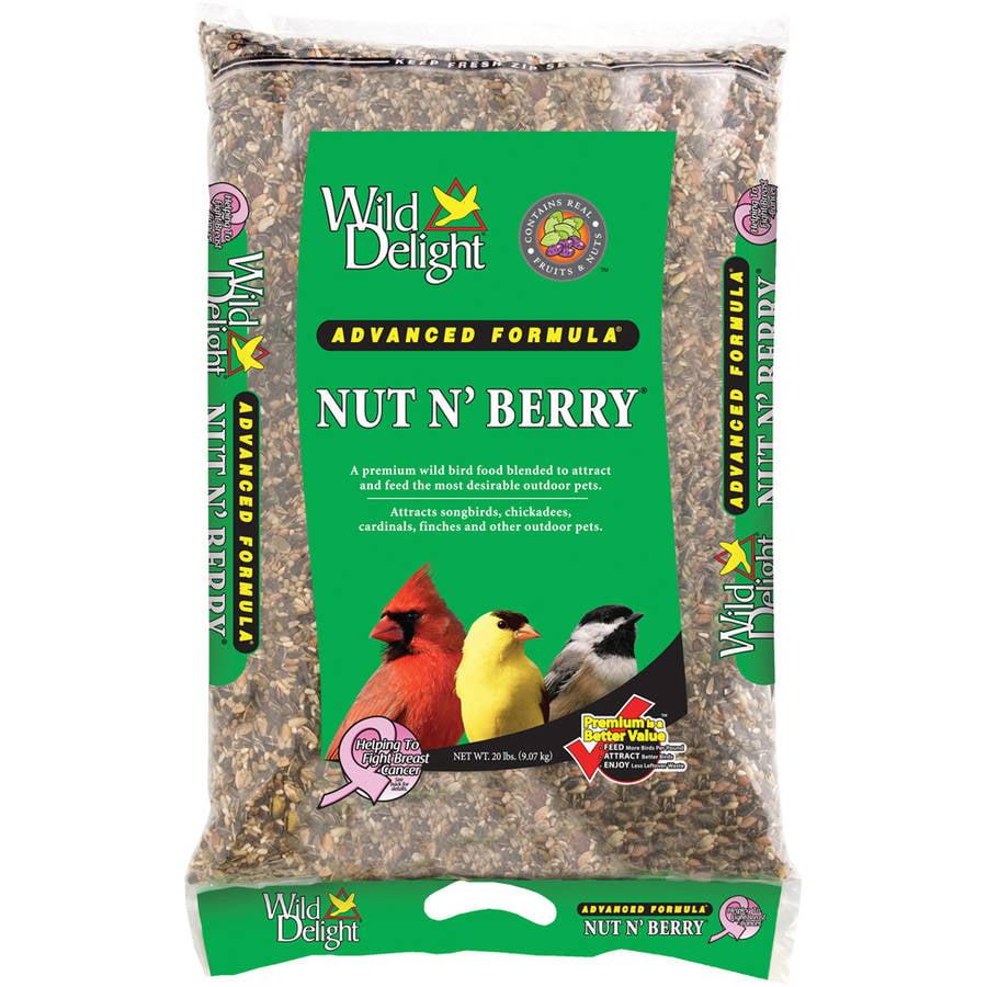 Wild Delight 366200 20 Lb Nut N' Berry Bird Food