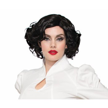 WIG 1940'S - BETTY - BLACK - 1940 Wigs