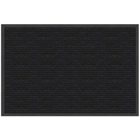"Multy Home MT2000104 Platinum Nonslip Utility Mat, 36"" x 24"", Charcoal"