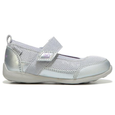 Stride Rite Made 2 Play Tilly Mary Jane Shoe (Toddler) Silver 5 M