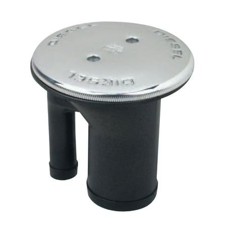 Perko 0541DPGCHR Vented Fuel Fills - Straight Neck