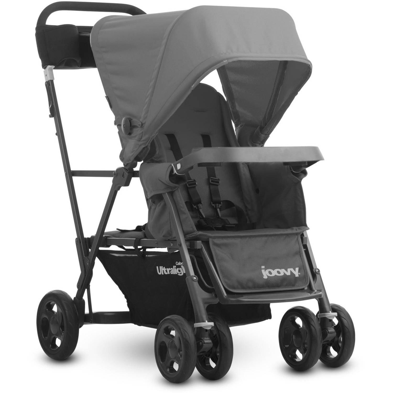 Joovy Caboose Ultralight Standing Stroller Lightweight Double Stroller � Gray by Joovy