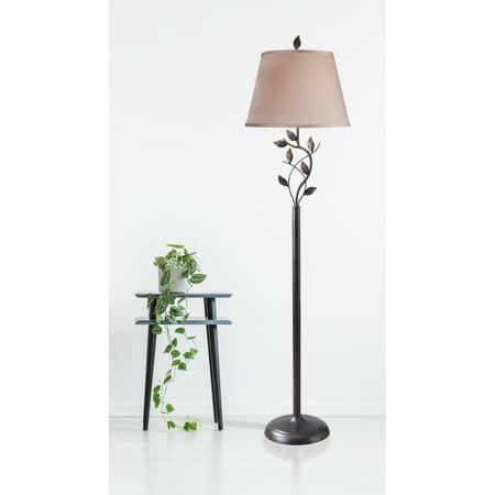 Kenroy Water Wall Floor (Kenroy Home Ashlen Floor Lamp, Oil Rubbed Bronze)