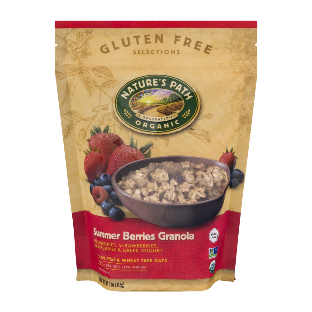 Nature's Path Organic Gluten Free Selections Summer Berries Granola, 11.0 OZ