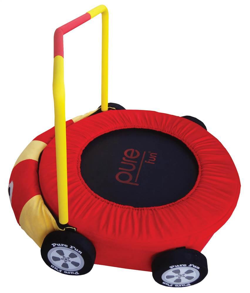 pure fun race car jumper kids trampoline walmart com