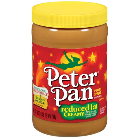 Peter Pan Reduced Fat Creamy Peanut Spread  28 Ounce