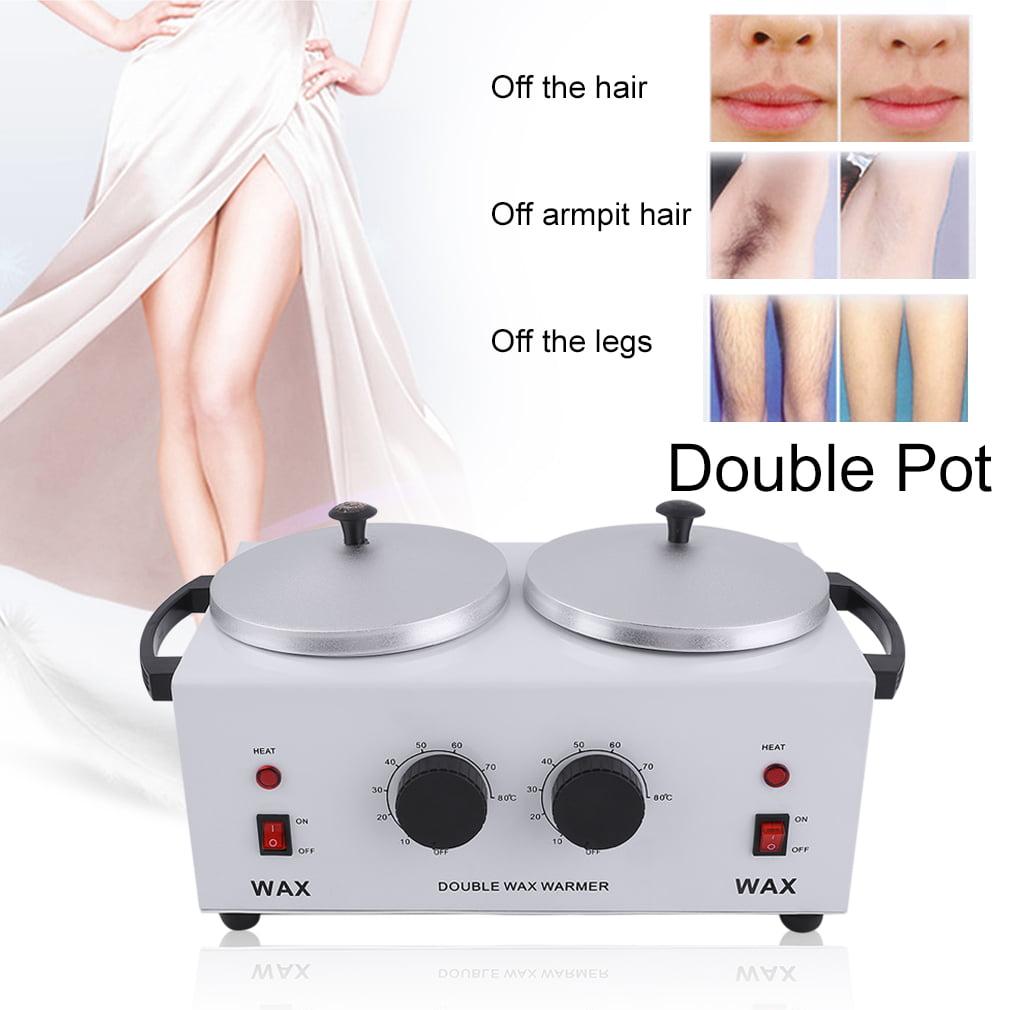 Double Pot Wax Warmer Electric Hair Removal Wax Machine S...