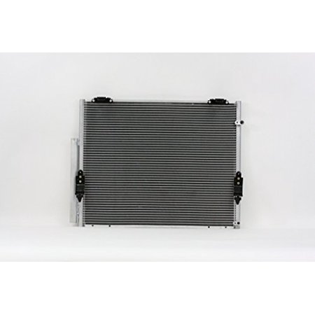A-C Condenser - Pacific Best Inc For/Fit 3598 07-18 Toyota Tundra w/o Tow 08-18 Sequoia w/o TOW w/Receiver &