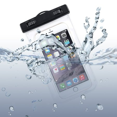 the latest e7632 54729 LG G7 ThinQ Compatible Waterproof Case Transparent Bag Cover Cover Pouch  with Touch Screen