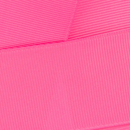 "3/8"" Grosgrain Ribbon Solid 156 Hot Pink 5yd"