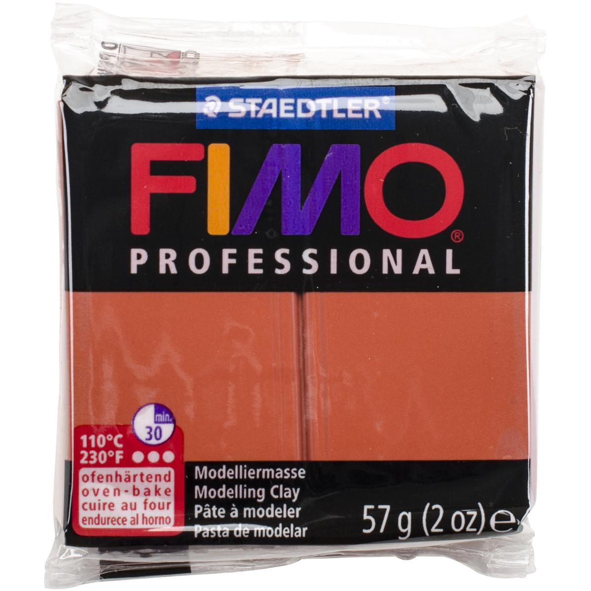 Fimo Professional Soft Polymer Clay 2oz-Terra Cotta