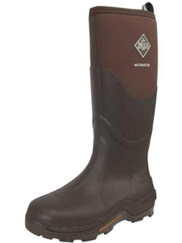 Muck Boot Unisex Muckmaster Gold Outdoor Boots Brown Nylon Rubber M10/W11 M US
