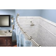 Moen 57 In. To 60 In. Tension Curved Shower Rod