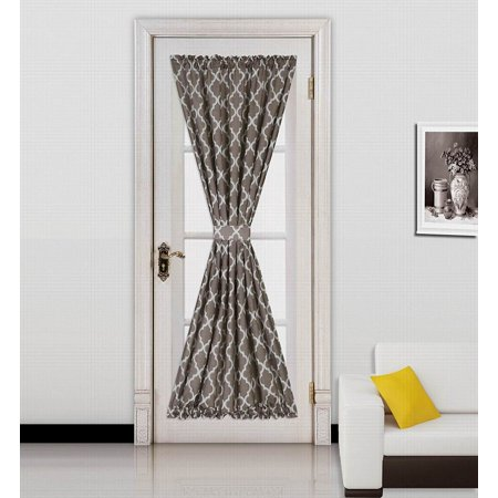 ELLA BROWN -WHITE  2 Tone Color 1pc French Door 55