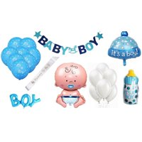 It's A Boy Baby Bottle Shape (38 Inch Mylar) Pkg/5, It's A Boy Baby Bottle Bouquet by Party Magic USA Direct Include 5 (Uninflated) Mylar/Foil Balloons.., By PMU