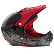 Pryme Us Full Face Helmet Graphic Series Sm/Md 53-57Cm Red/Black