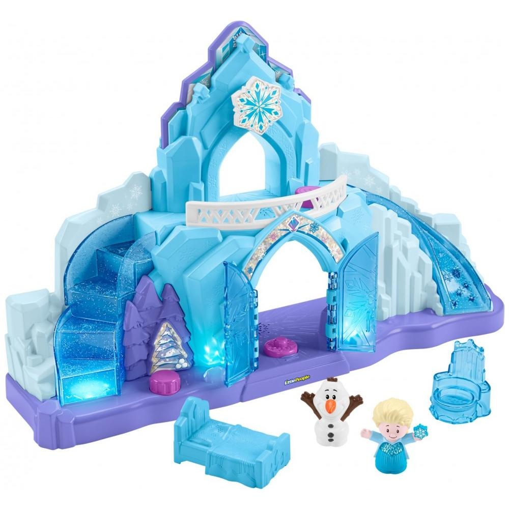 Disney Frozen Elsa's Ice Palace by Little People by Fisher-Price